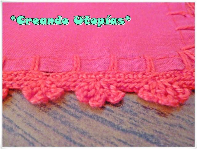 Creaciones MDO: Puntilla en crochet