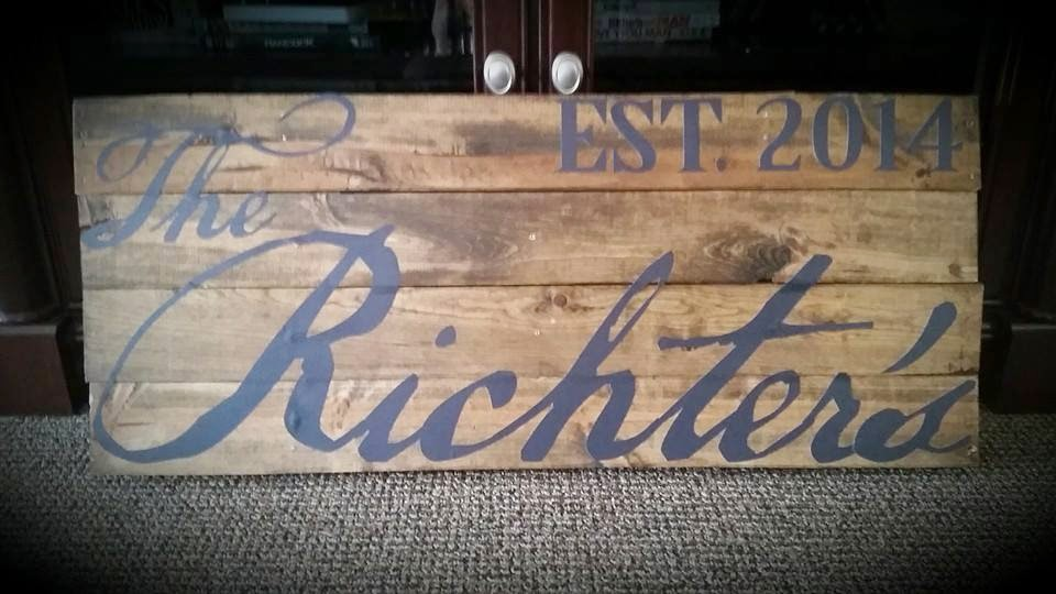 The Richter's Wall Decal Print | Banners.com