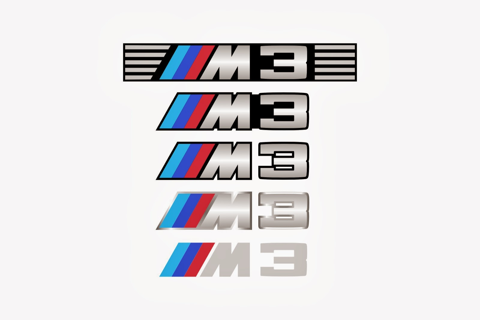 BMW M3 Logo