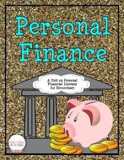 https://www.teacherspayteachers.com/Product/Personal-Finance-and-Money-Unit-FREEBIE-1810357