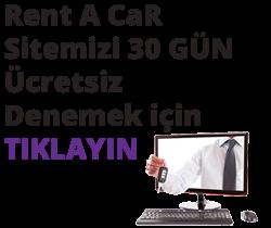 Hazır Rent A Car Sitesi Demo