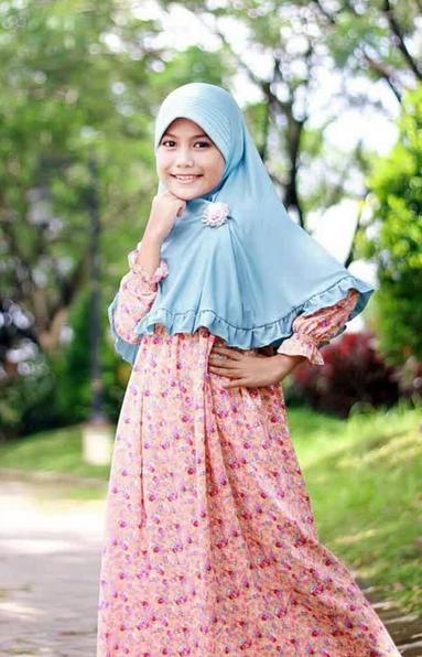 Contoh Hijab Modern Terbaru Untuk Anak