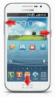 Cara Membuka Kunci SAMSUNG S7262 Galaxy Star Pro