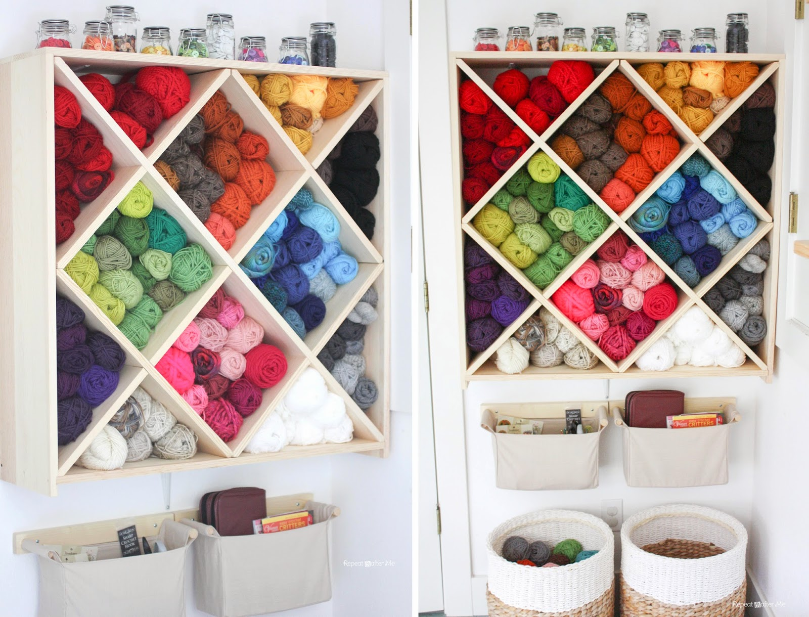 Repeat Crafter Me Yarn Storage System