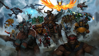 dota 2 heroes epic battle