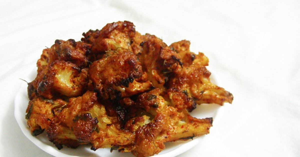 Nimmy's Kitchen: Tandoori Gobi