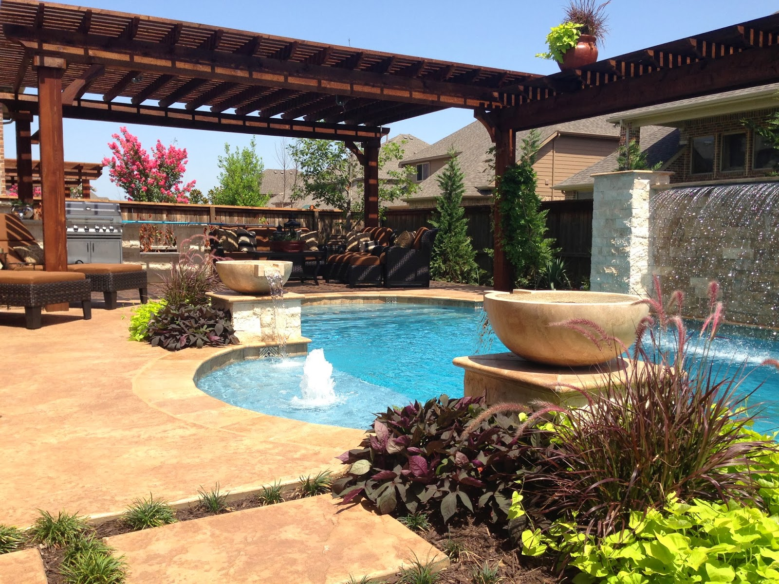 Swimming pools in dfw by dolce pools october 2013 for Custom indoor pools
