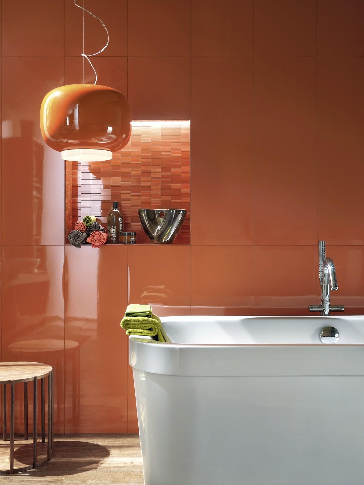 4bildcasa scegliere le piastrelle del bagno il colore parte prima - Colore piastrelle bagno ...