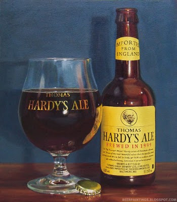 Thomas Hardy's Ale beer painting art