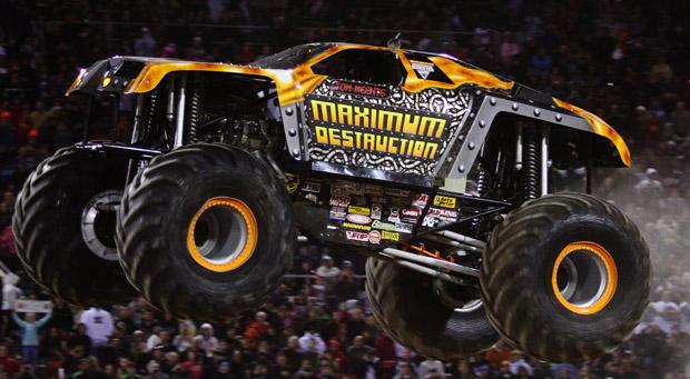 Monster Trucks And Monster Jam Maximum Destruction Max D