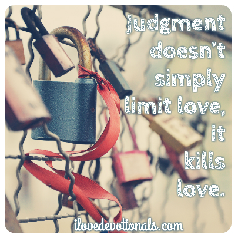 quotes about love and judgment