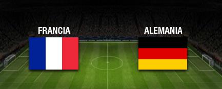 resultado final Francia vs Alemania cuartos de final