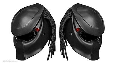 Helm yang didesain oleh perusahaan asal Rusia, NLO-Moto ini sudah