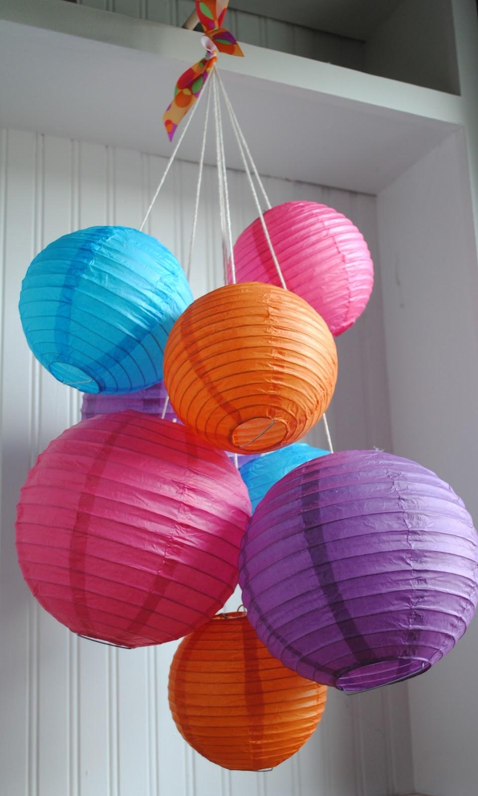 Бумажный китайский фонарик - Подвесные китайские фонарики бумажные