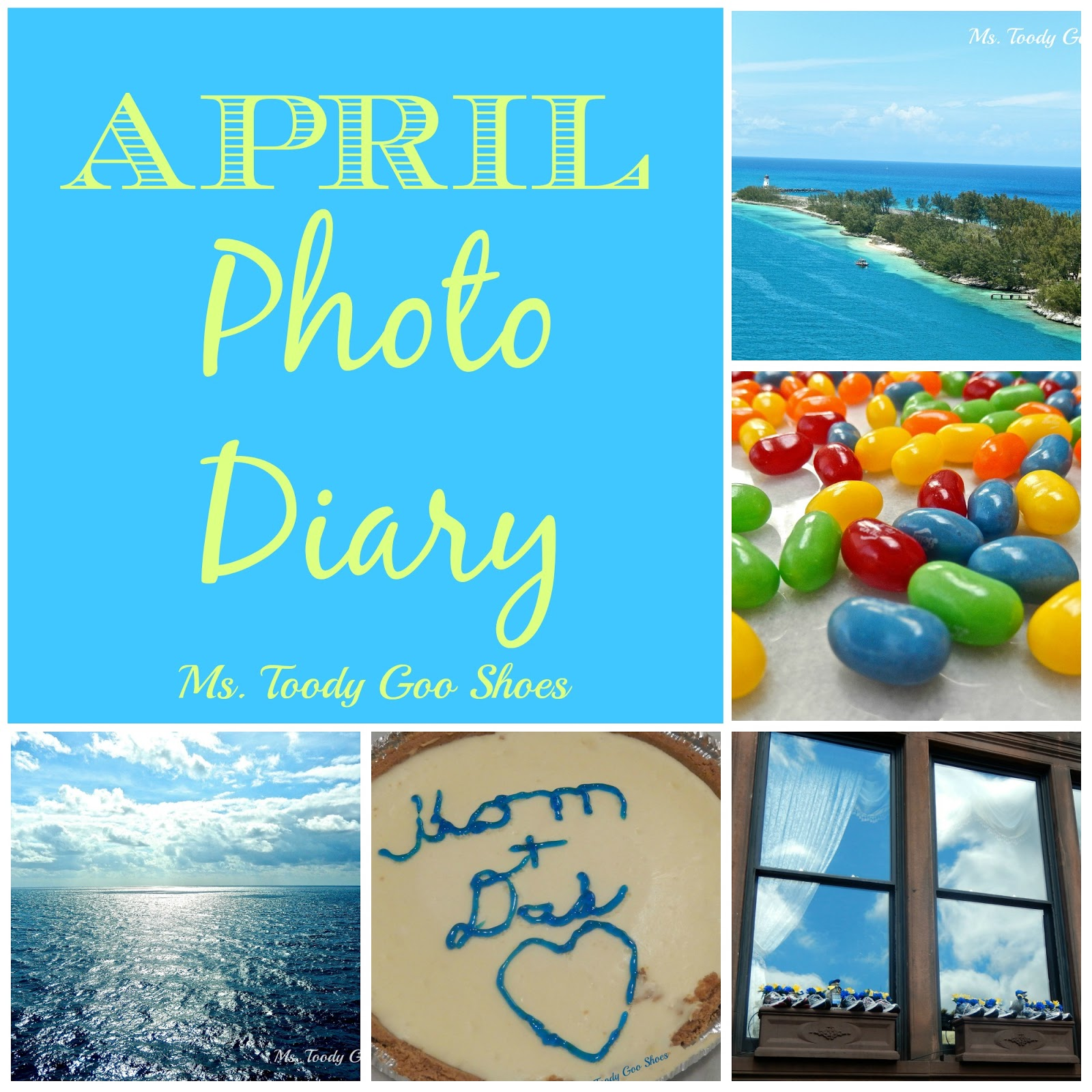 April Photo Diary --- Ms. Toody Goo Shoes
