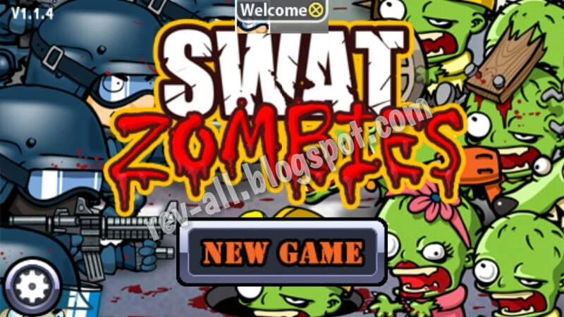 menu utama permainan android SWAT vs Zombies (rev-all.blogspot.com)