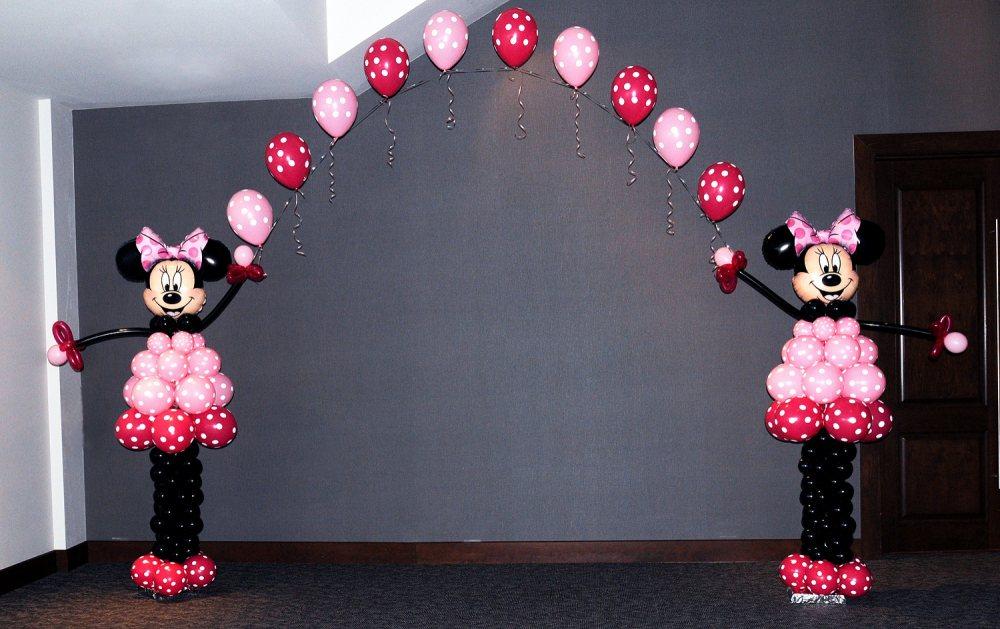 Figura de globos minnie mouse for Decoracion de minnie mouse
