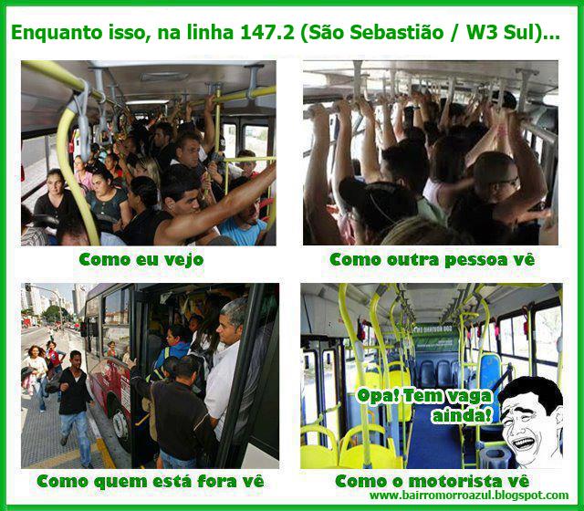 Realidade linha 147.2 (São Sebastião/W3 Sul)