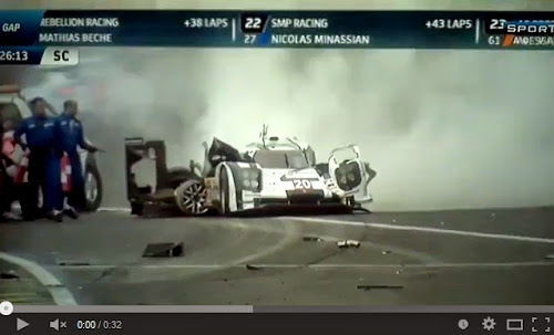 Mark Webber sobrevive a acidente