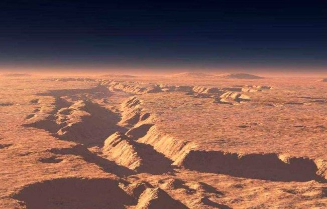 mars canyon nasa - photo #41