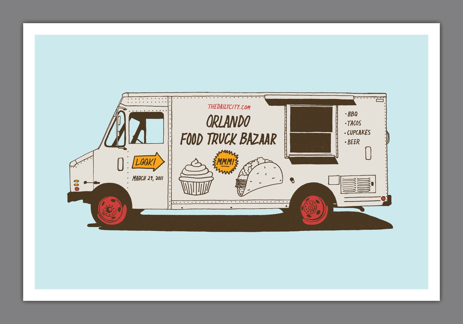 The best part a daily art and design blog food truck bazaar for Best food truck designs