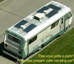 Le camping car pour les nuls: Une installation solaire optimale