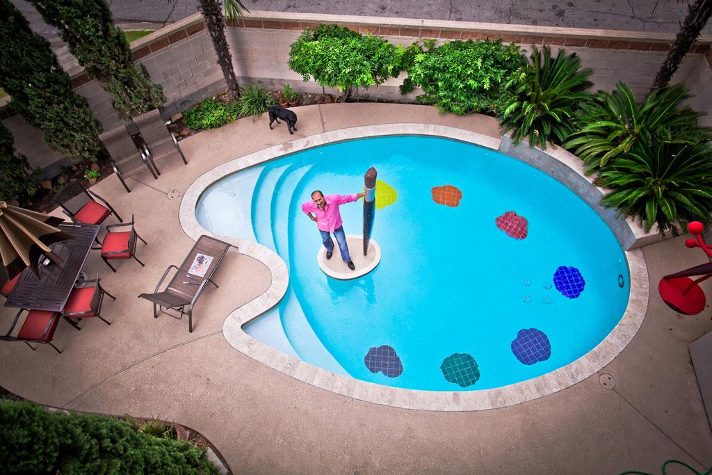 Piscinas de ver o com formas incomuns decora o e ideias for Formas para piscinas