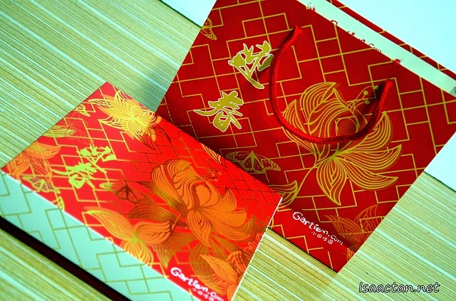 Gartien Pineapple Cake Chinese New Year 2014 Promotion