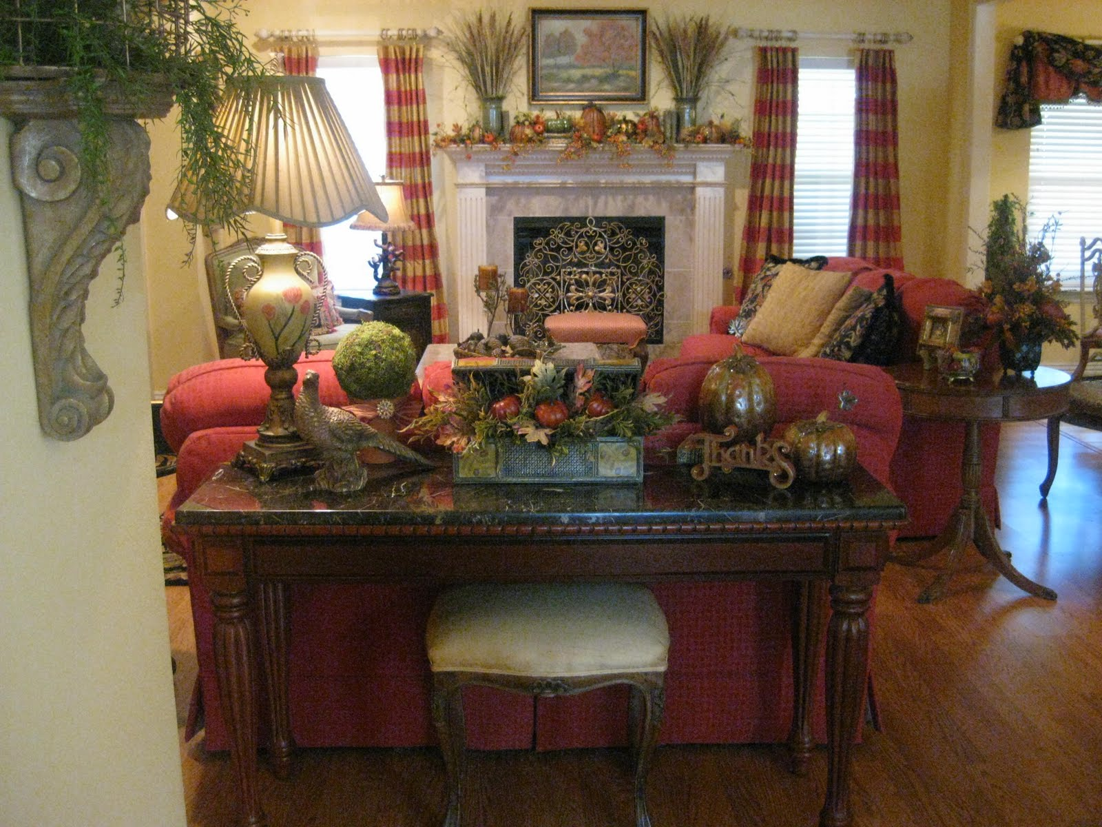 Fall Living Room Tour Part 95