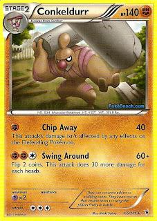 Conkeldurr #65/101 Pokemon Card Noble Victories Set