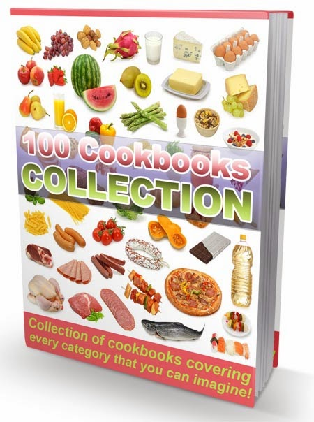 Mega pack of 100 Recipe eBooks