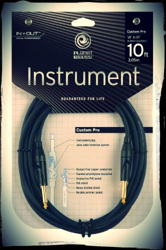 Half Off a New Planet Waves Custom Pro Series Guitar Cable (10 Feet)