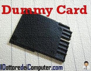dummy card