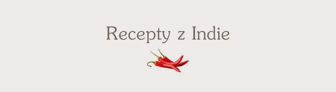Recepty z Indie