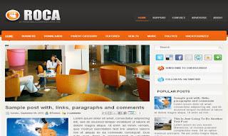 Roca Blogger Templat