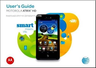Motorola Atrix HD Manual Cover