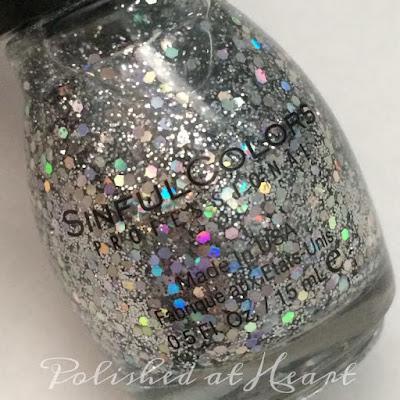 silver holo glitter