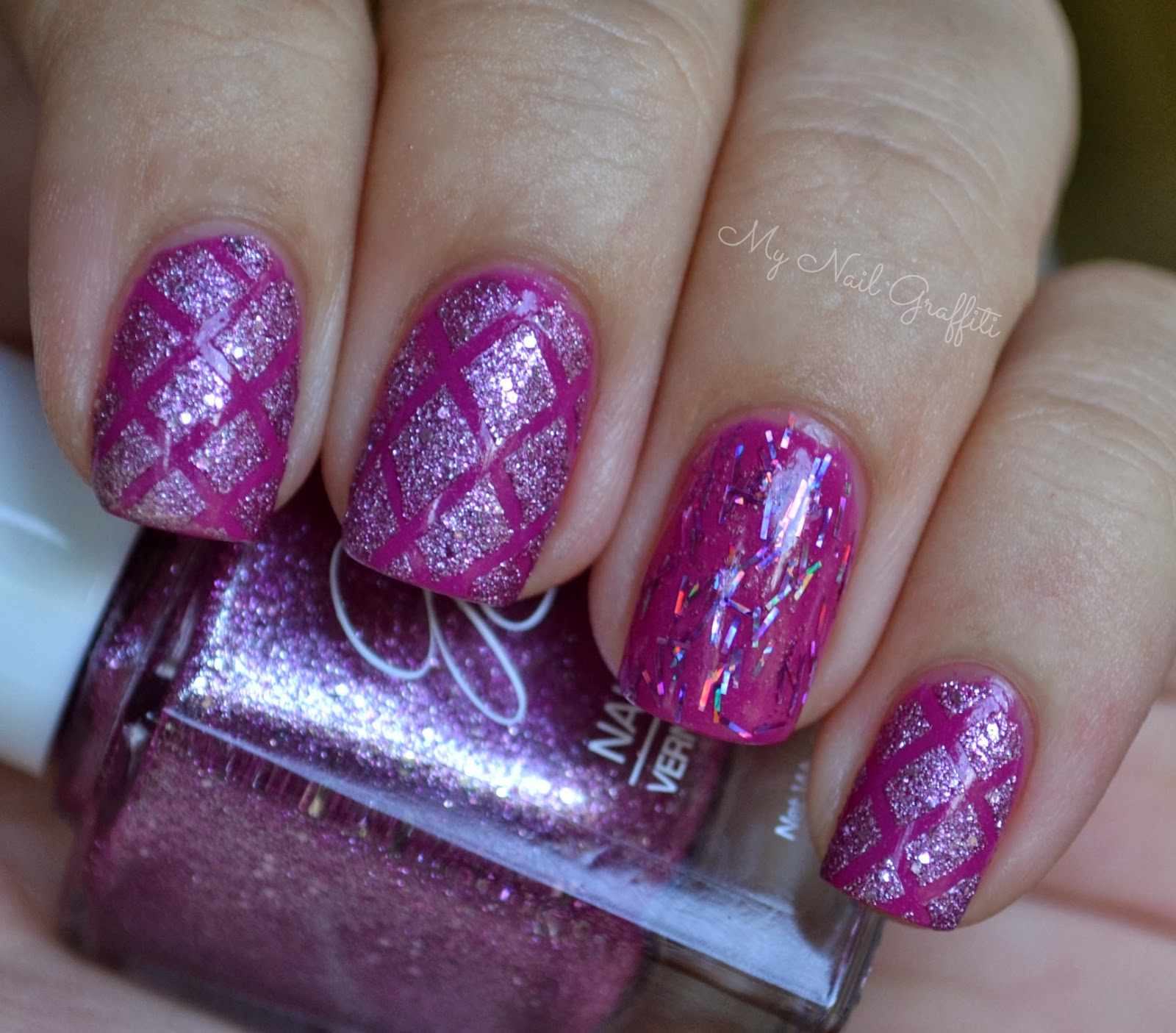 My Nail Graffiti Essie The Girls Are Out Julie G Crushed Candy