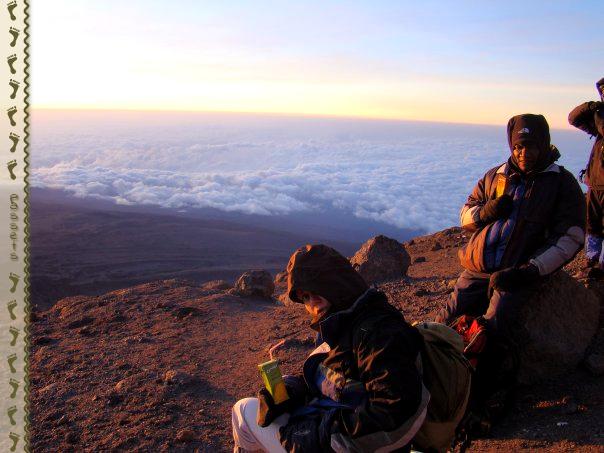 Amanecer en el Kilimanjaro