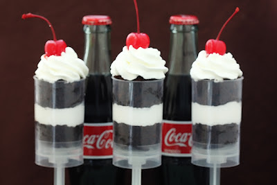 Coke Float Push Up Pops