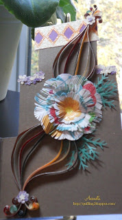 quilling quilled flower