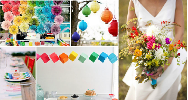 You searched for: rainbow wedding! Etsy is the home to thousands of handmade, vintage, and one-of-a-kind products and gifts related to your search. Rainbow flower, rainbow wedding, rainbow party decor, rainbow centrepiece, lgbt wedding, lgbt rainbow flower, pride flower, lgbt bouquet MagicPaperCrafts. 5 out of 5 stars.