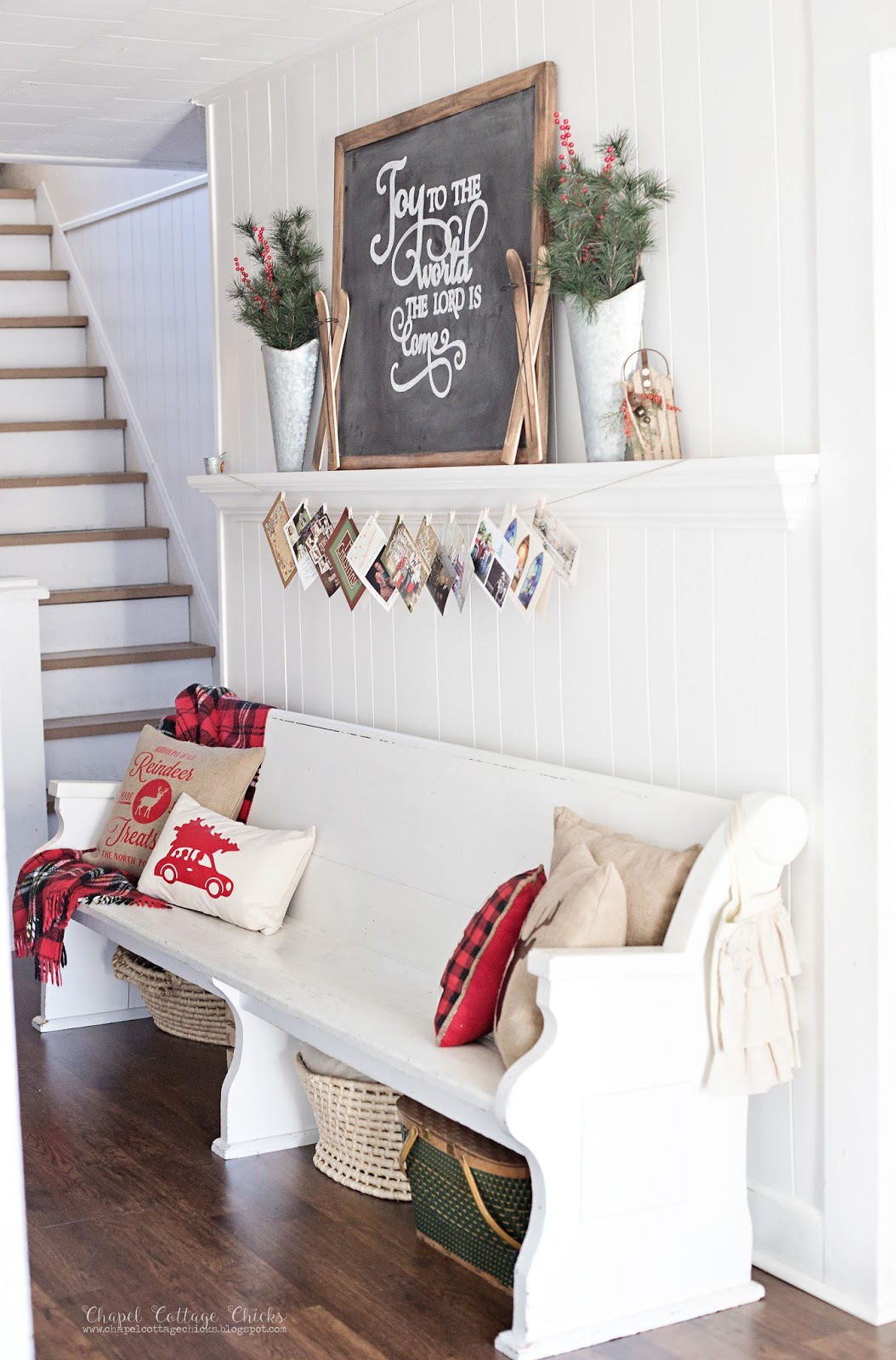 chapel cottage chicks december 2015 - Joanna Gaines Christmas Decor