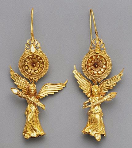 Ancient Greek Jewelry History Of Earrings