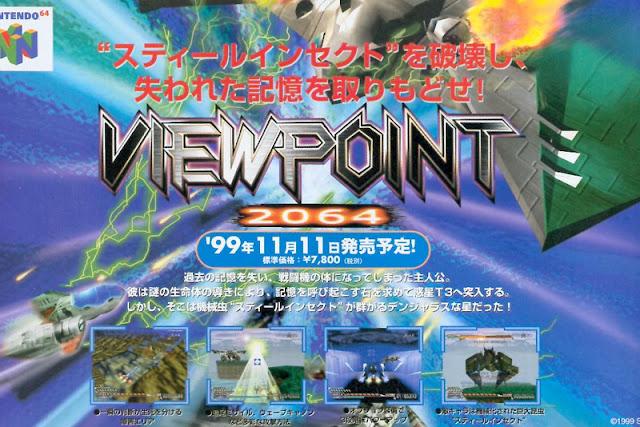 Aparecen nuevas imágenes del Viewpoint cancelado para N64
