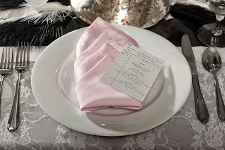 20s style place setting