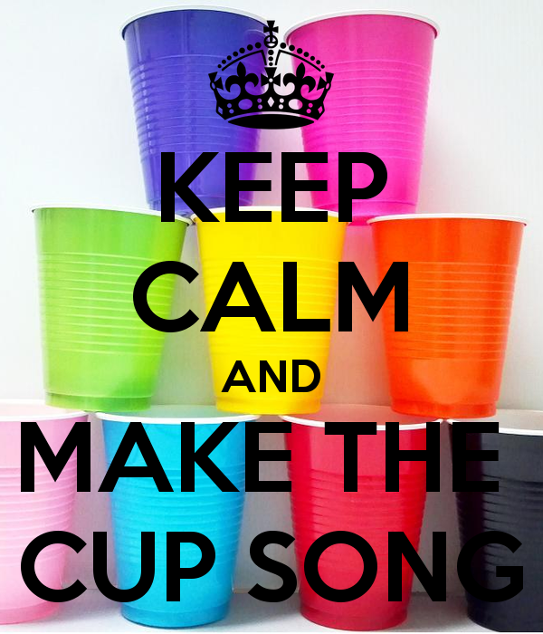 how to make the cup song