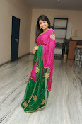 Priyanka Gorgeous Photos in Saree-thumbnail-18