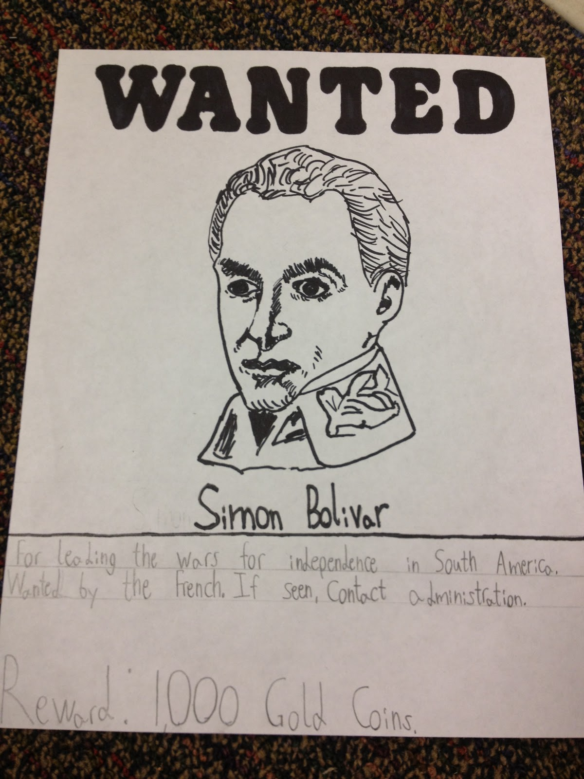 Obertopia: Wanted Poster Lesson Plan