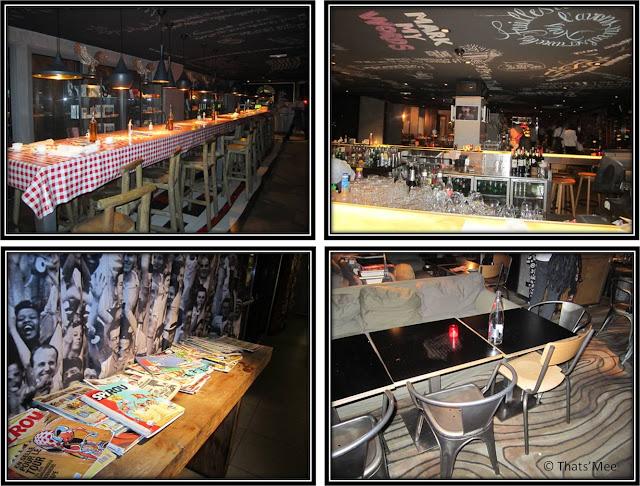 Deco Restaurant Mama Shelter Paris